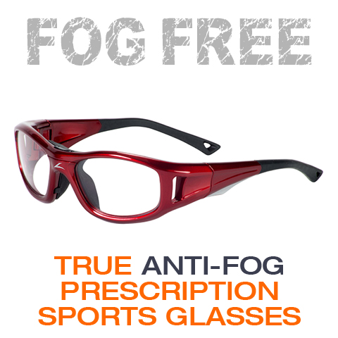 prescription fog free sports glasses
