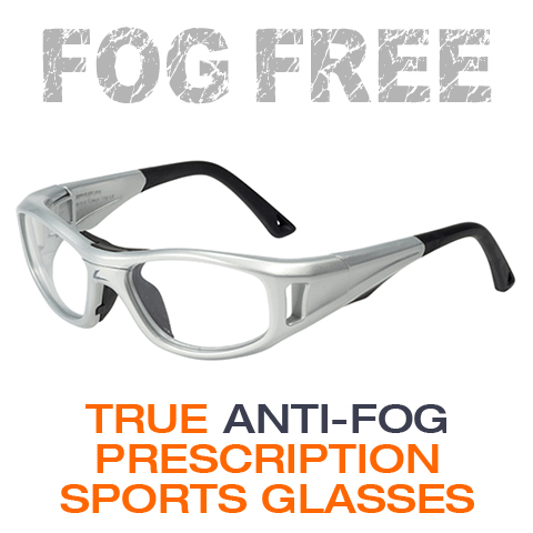 prescription anti-fog sports glasses